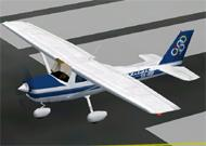 FS2002 Aircraft Olympic Cessna 152 SX-BDP image 1
