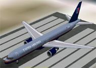 FS2002 Aircraft- United Airlines Boeing 757-200 image 1