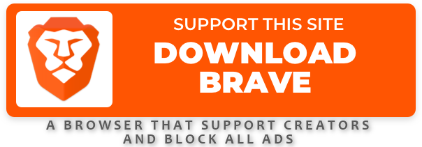 Hi! We want to keep creating awesome content. Now you can help. When you switch to the Brave browser, they give us about 5 USD in tokens! It's super helpful. Thank you for being part of the team!