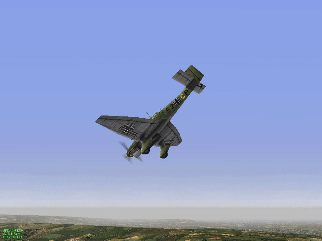 Stuka over france.
