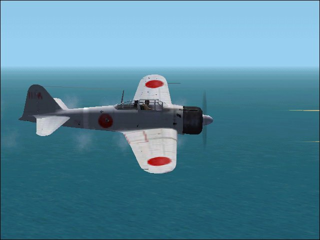 A6M2 Zero with the smoking guns added. - Photo 705