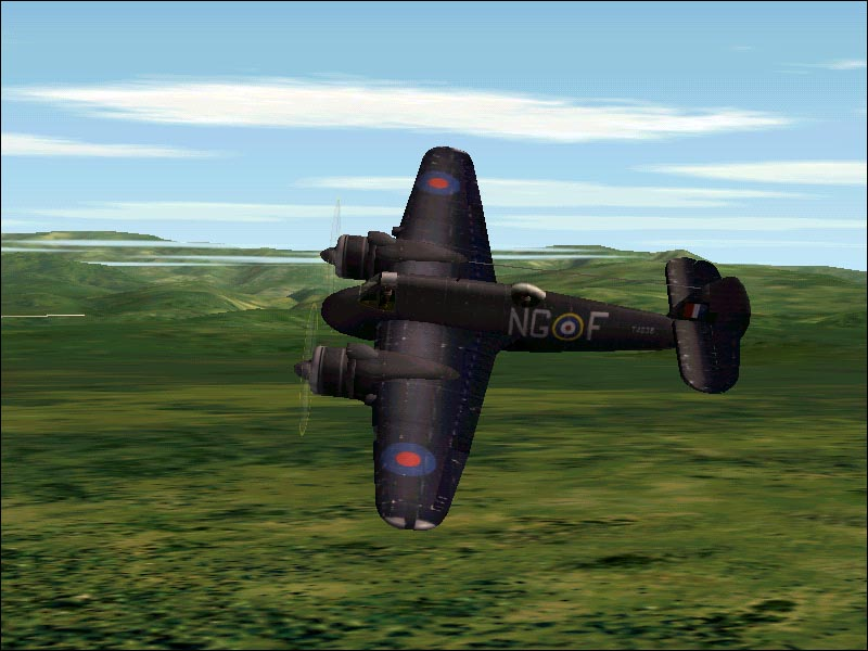 Beaufighter in CFS2 - Photo 163