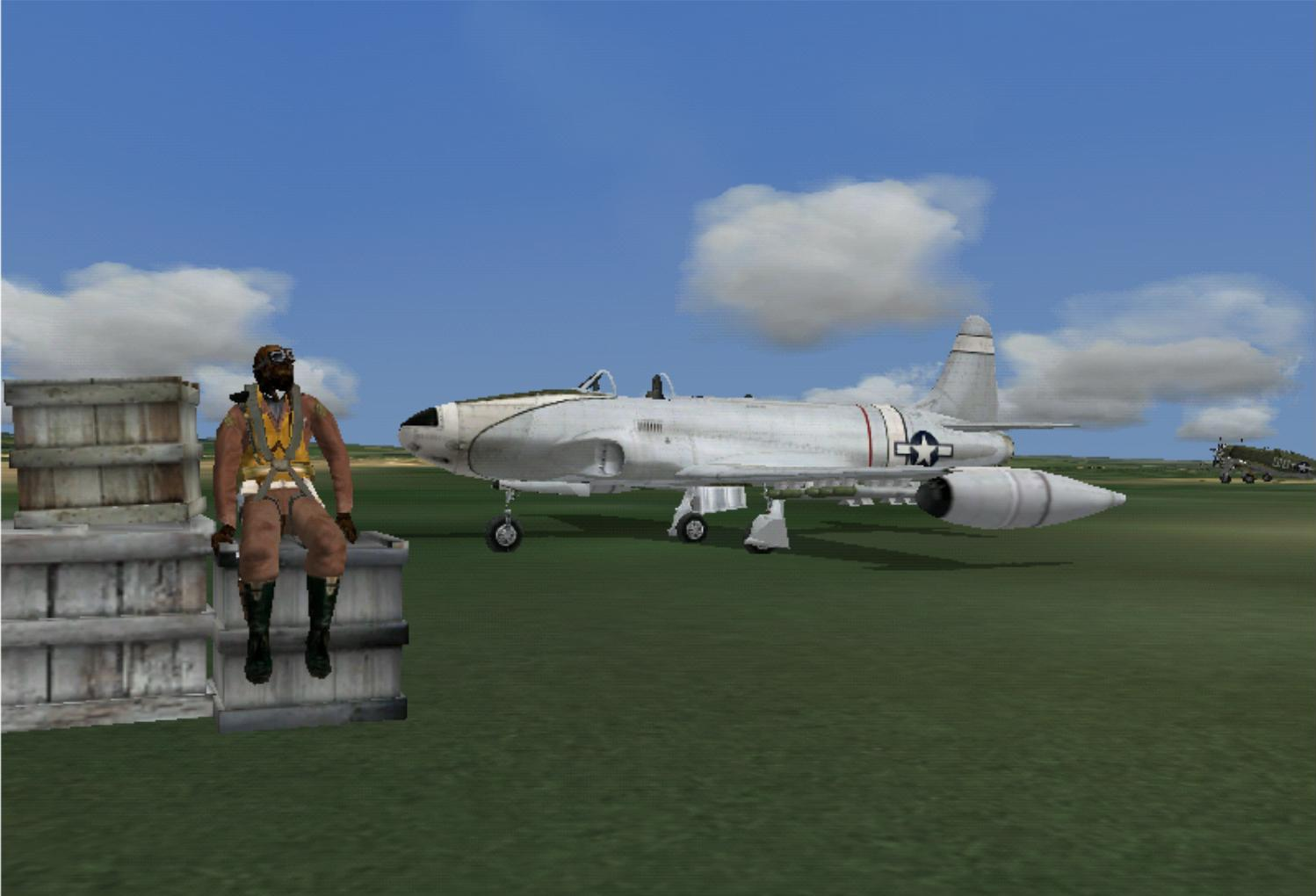 This plane is very awesome. I took it up to FL350 in CFS3. - Photo 2614