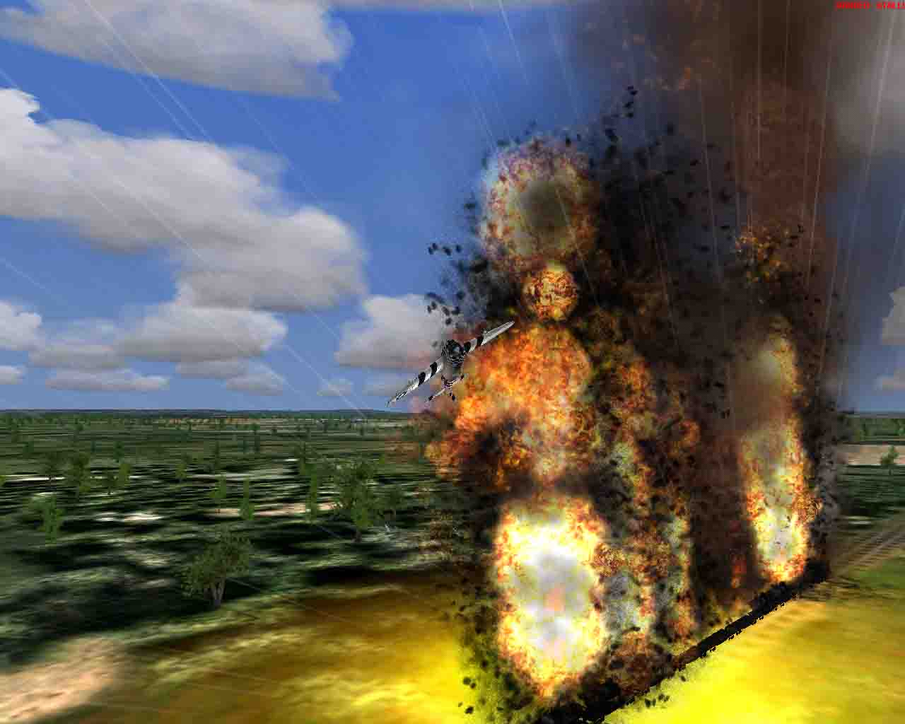 Huge explosion!!! Good graphics , ya - Photo 2387