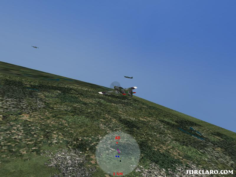 Im comming around for a missle launch/gun round. When I finished I had taken all of the Ju-88. - Photo 15048