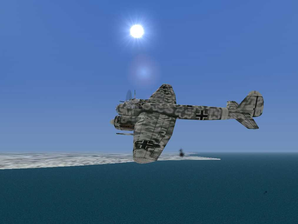 Another shot of german bomber. - Photo 1841