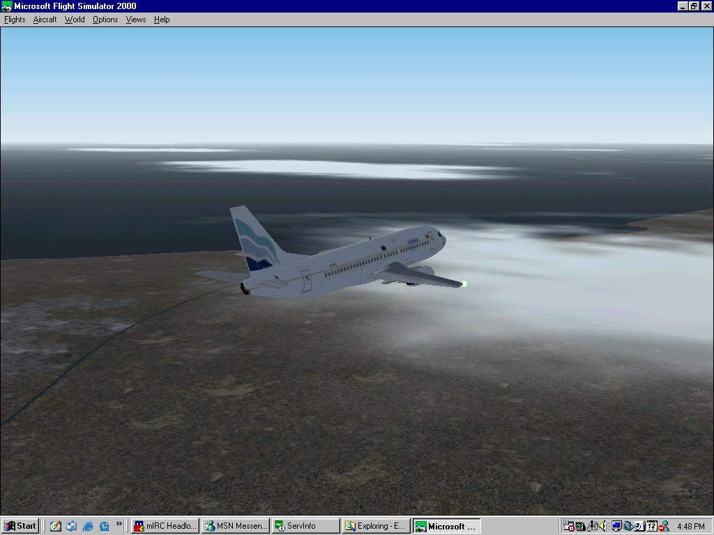 This is a 737 from te new portuguese va Euro Atlantic Airways Virtual - Photo 2101