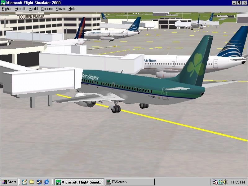Boeing 737 parked in Panama.   - Photo 168