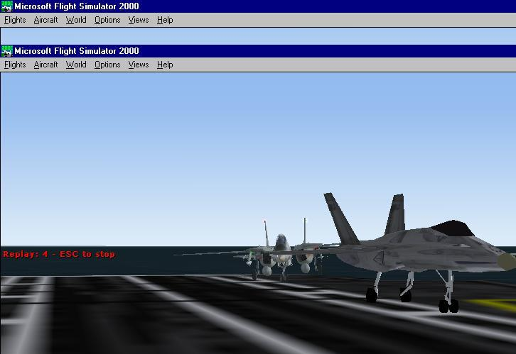 It was my F-14 vs The F-18 Hornet but I felt forgiving and let him win. - Photo 1612
