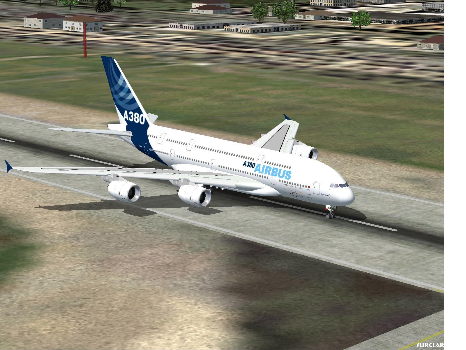 My A380 after landing - Photo 15806
