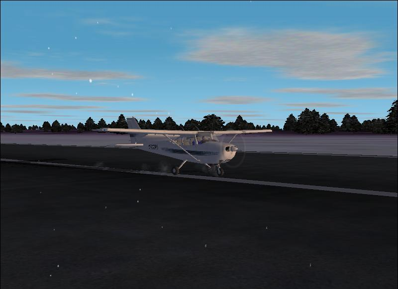 A Cessna 172SP at Hasslo airport. - Photo 173