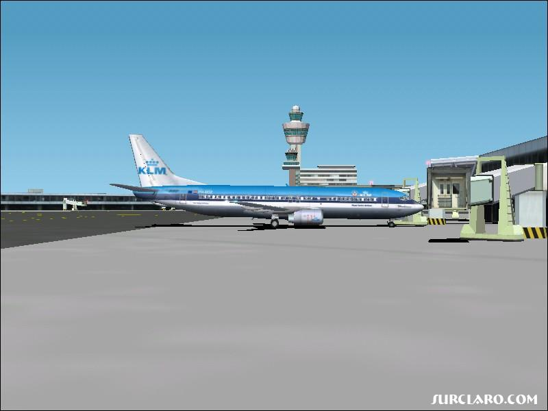 Leaving passengers after LPPT - EHAM - Photo 547