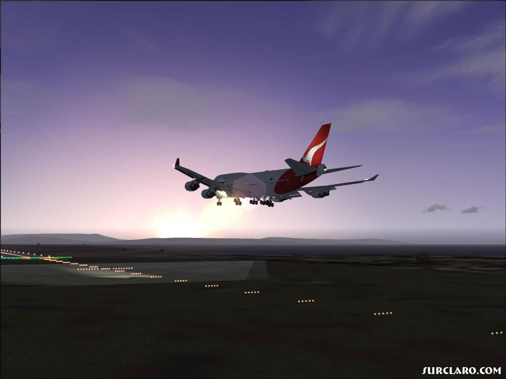 Well, hope u like this shot! Early morning arrival, short final: Full flaps, 140knots, airbrakes armed... plz quote ;D - Photo 11634