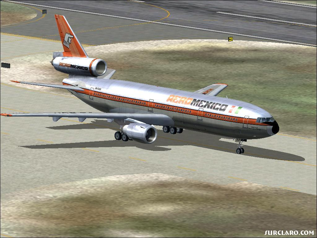 FS2004 Aeromexico Antiguo (15341) SurClaro Photos