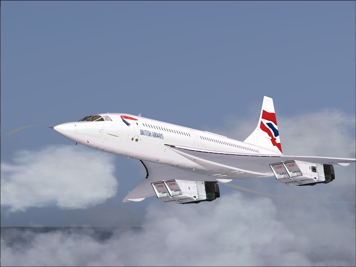 Aerospatiale BAC Concorde takeoff from Heathrow. - Photo 8045