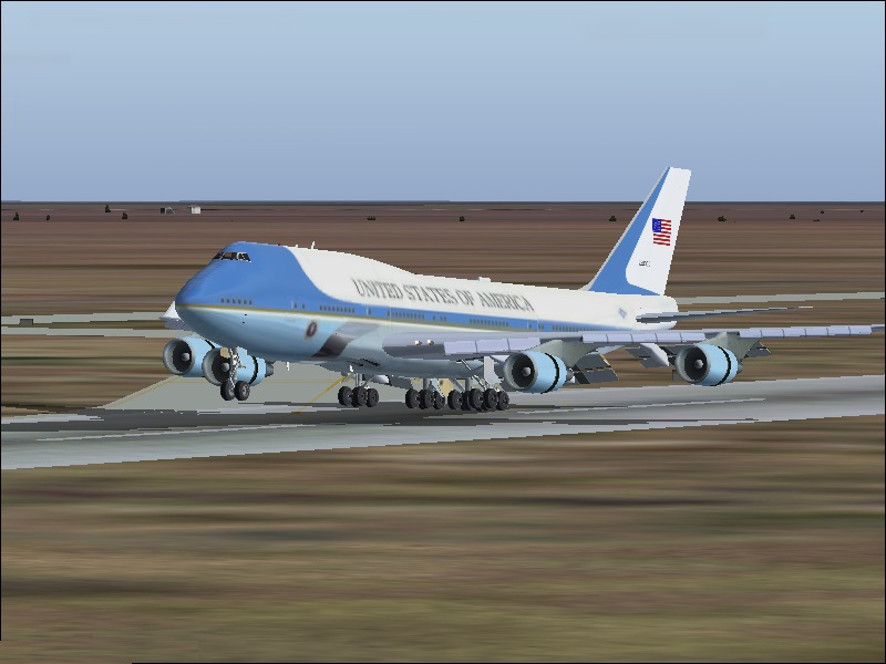 FS2004 Air Force One Baghdad (4202) SurClaro Photos