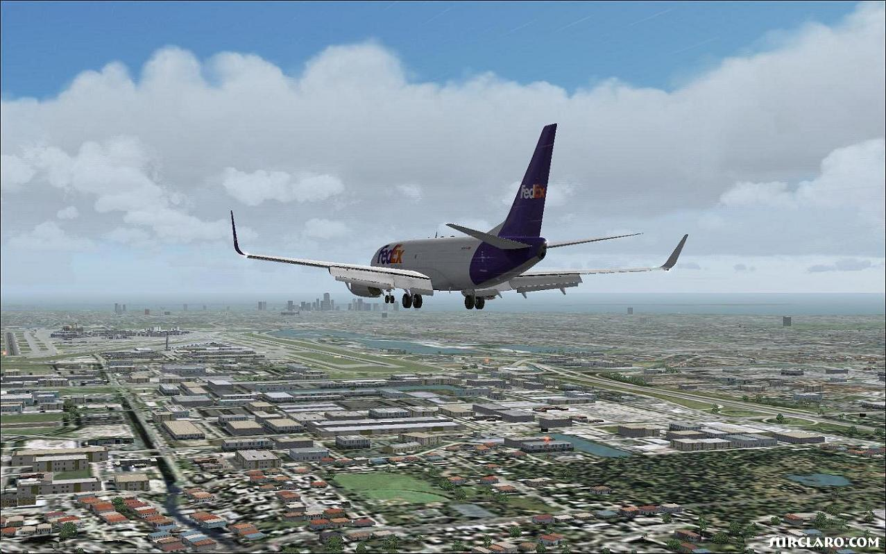 FS2004 Miami Approach 2 (8753) SurClaro Photos