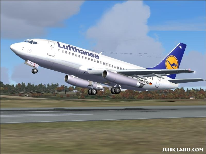 Lufthansa taking of from Balice - Photo 11460