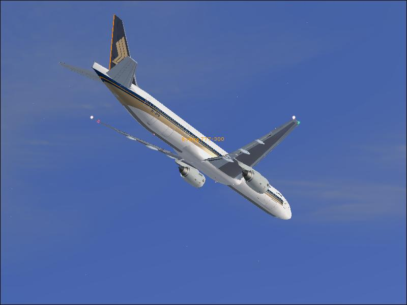 Prepaing to land at Schipol from Changi. - Photo 3730
