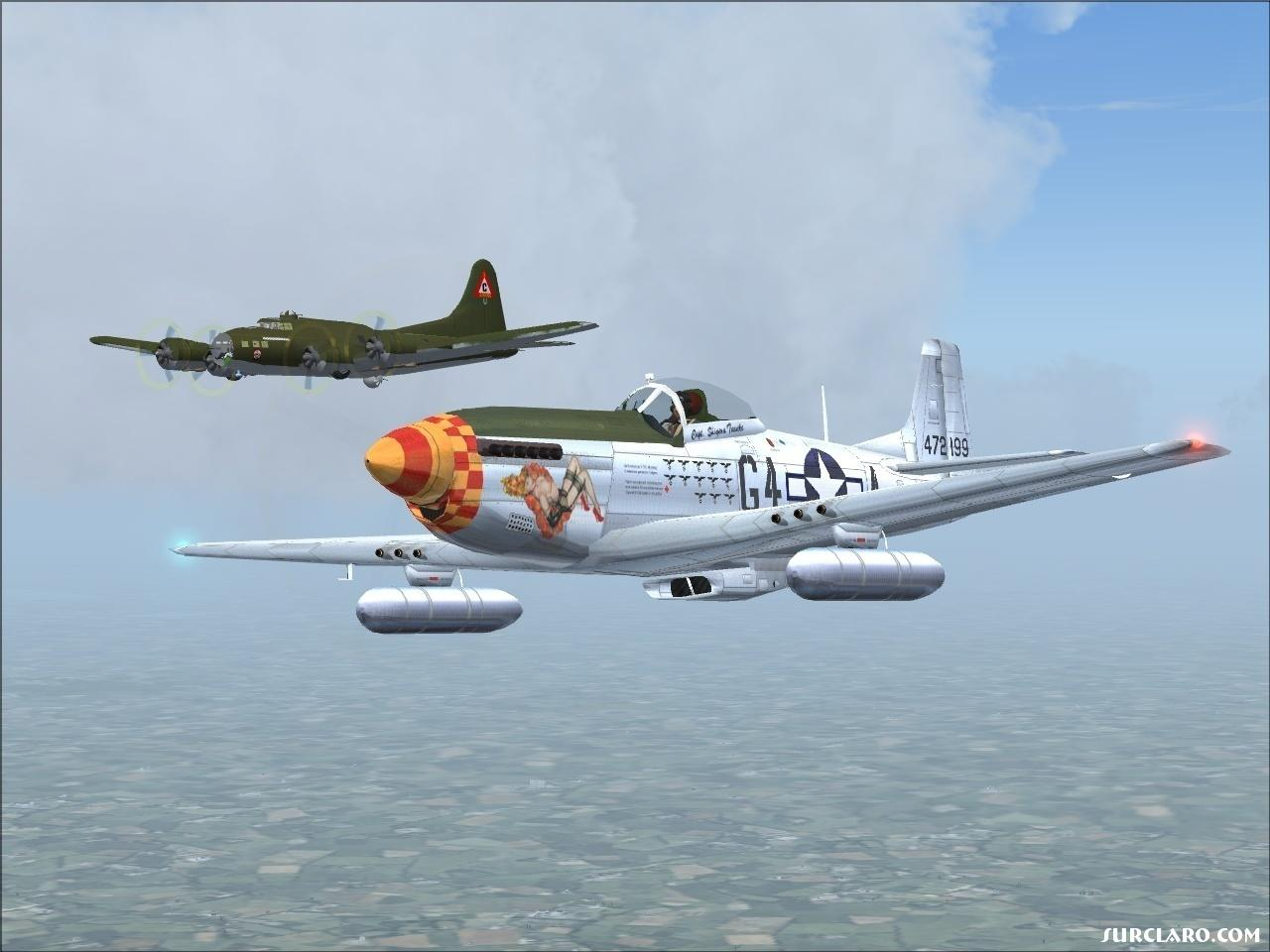 Fs2004 Mustang And Flying Fortress 12620 Surclaro Photos