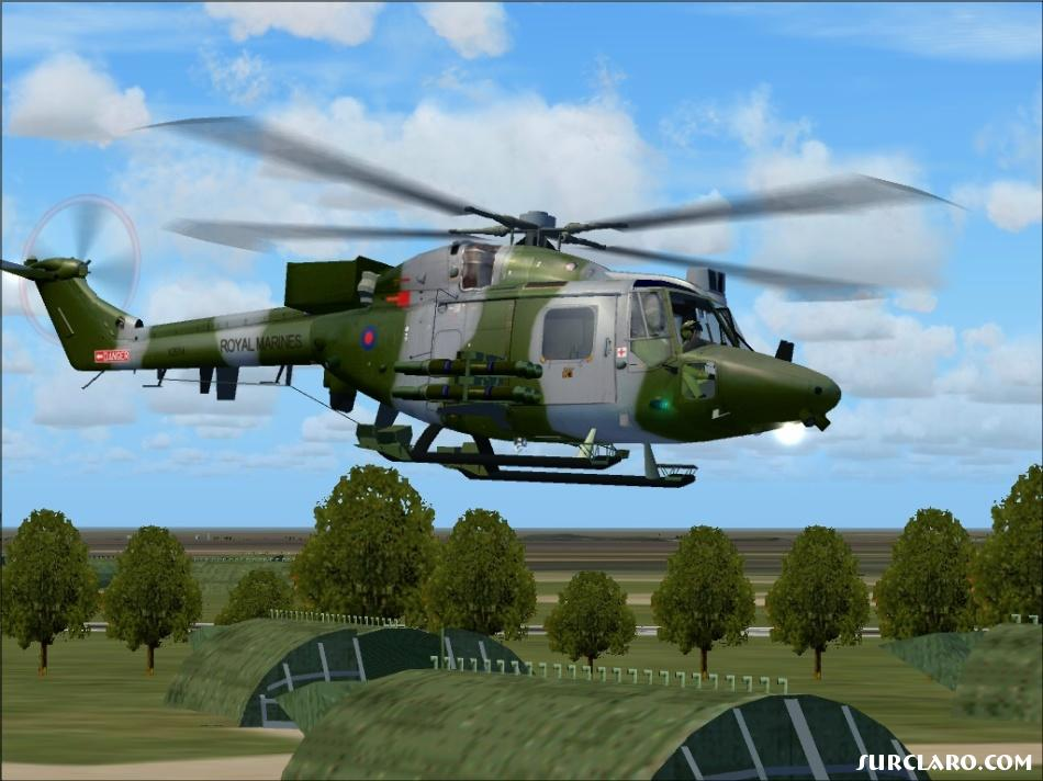 Westland Lynx leaving for Portsmouth. - Photo 11450