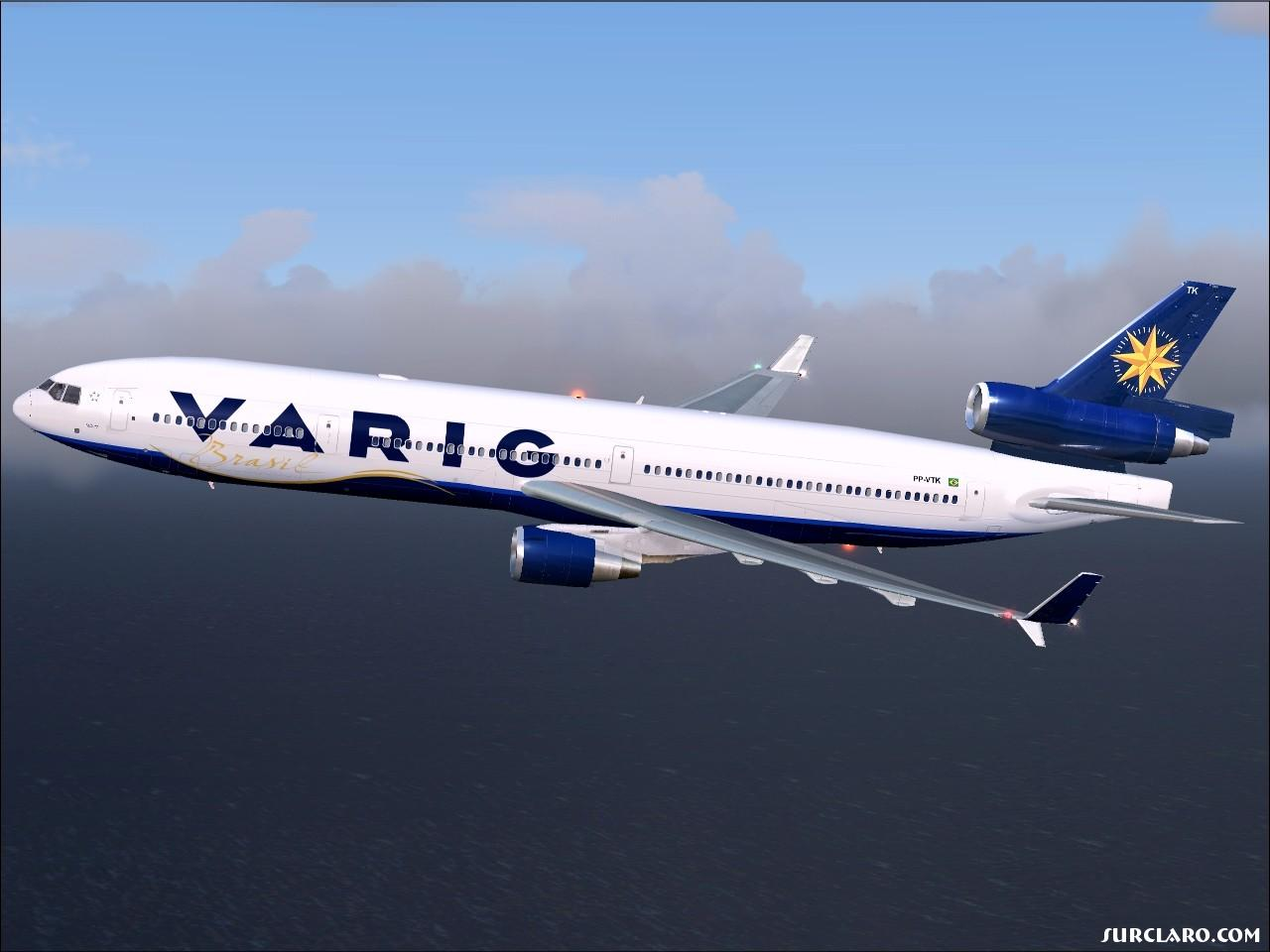 Fs2004 Varig Md 11 7643 Surclaro Photos