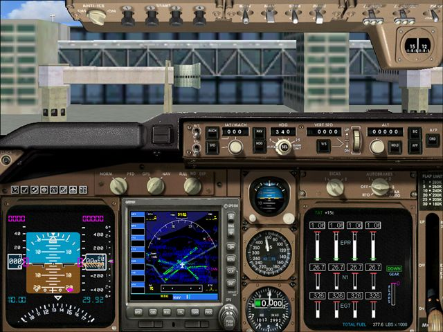 and this one goes for you msimania a747 panel of fs 2004! - Photo 3091