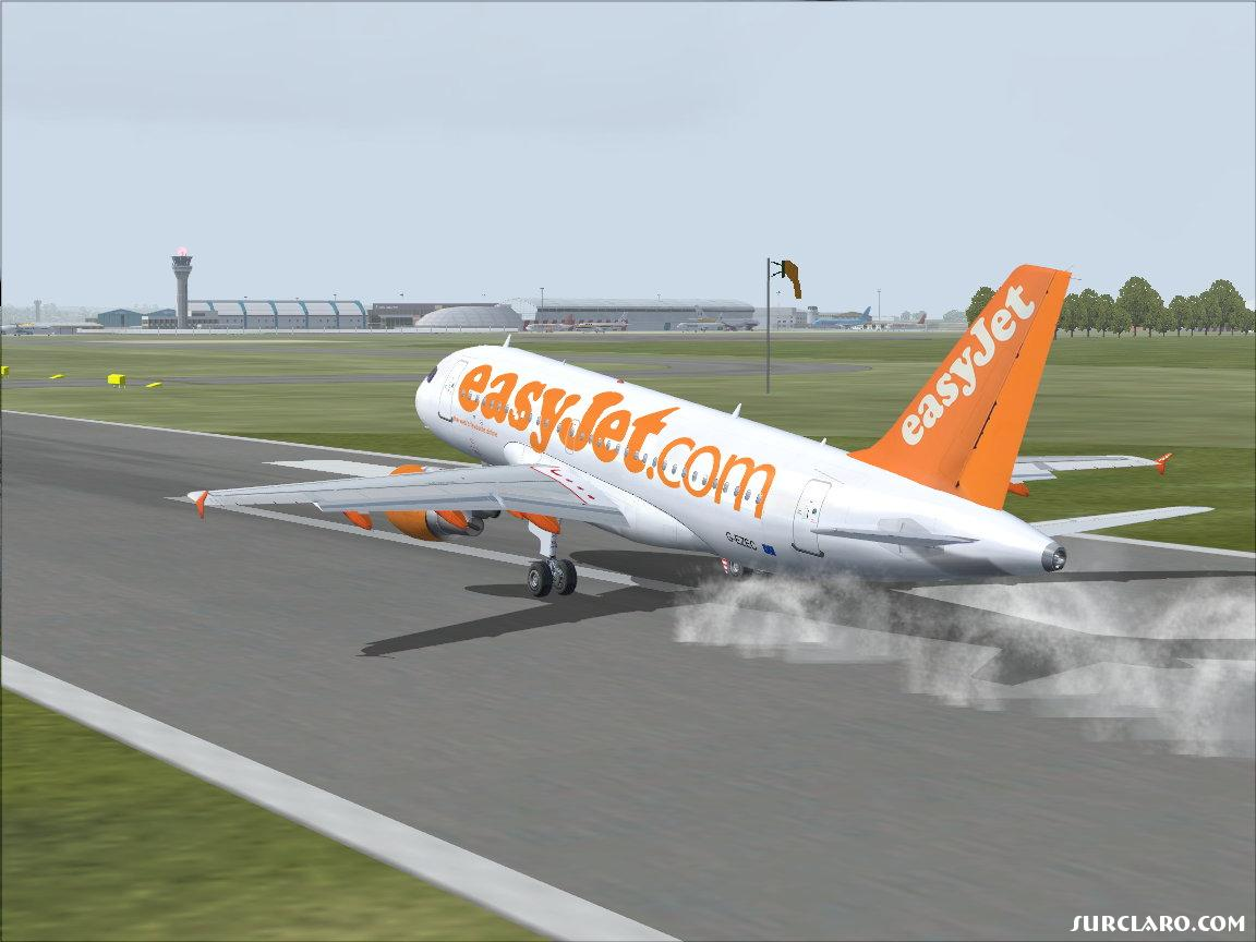Touching down at Luton Aipport - Photo 10424
