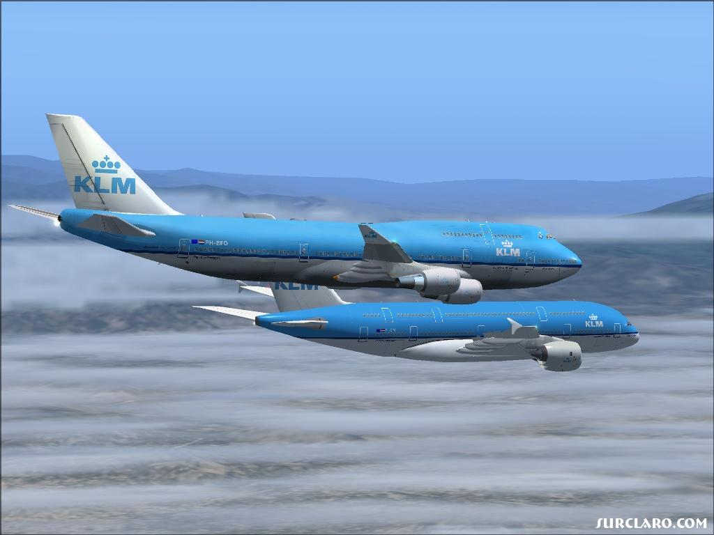 Fs2004 Klm Fleet 9835 Surclaro Flight Simulator