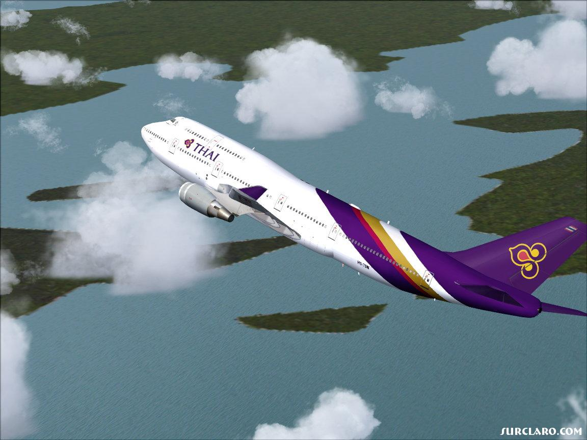 A Shot of the 747 Thai Airways - Photo 10357