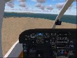 Cessna P210n On final VC view