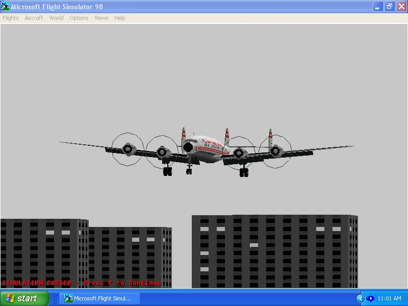 twa connie on approach to meigs,i'mgetting obsessed with these planes... - Photo 4256