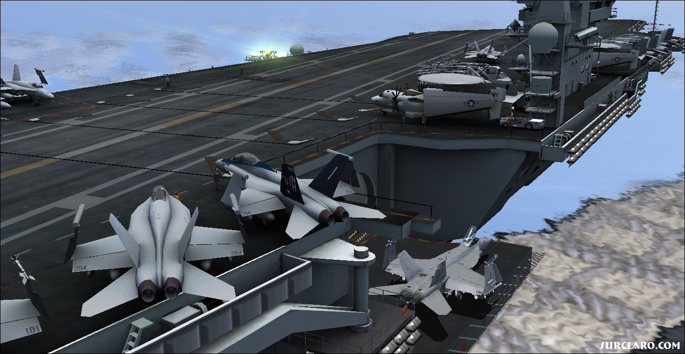 Me Preparing for Carrier Launch with the VRS F-18 Hornet!!! - Photo 18192