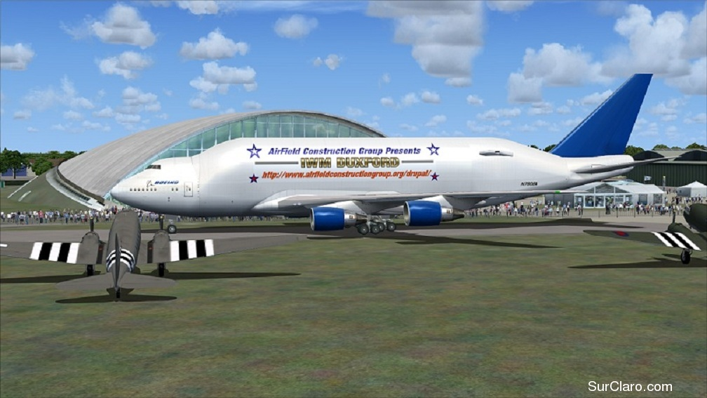 Thanks to Airfield Construction Group - for making this FREEWARE Scenery Available to ALL Flight Simmers !! They have a FSX version - and - a F/S~2004 version as well, so be sure to download the right one and enjoy the Airshow and many A.I. Aircraft too ~ !! - Photo 18567