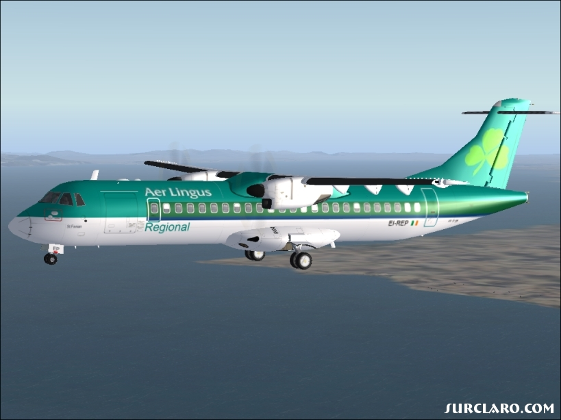 Flight Simulator X Aer Lingus Regional 18768 Surclaro Photos
