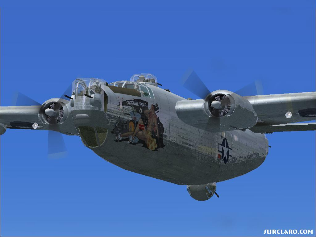 WW2 - Consolidated B 24 - Photo 17113