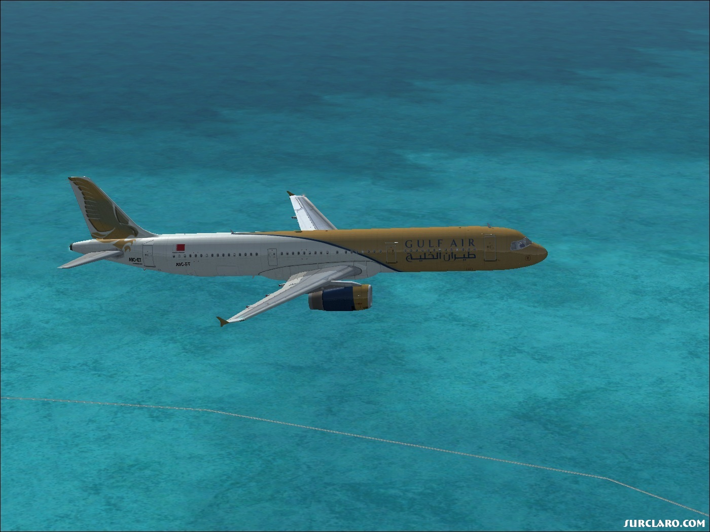En route from BAH to AMM, FL200 - Photo 18091
