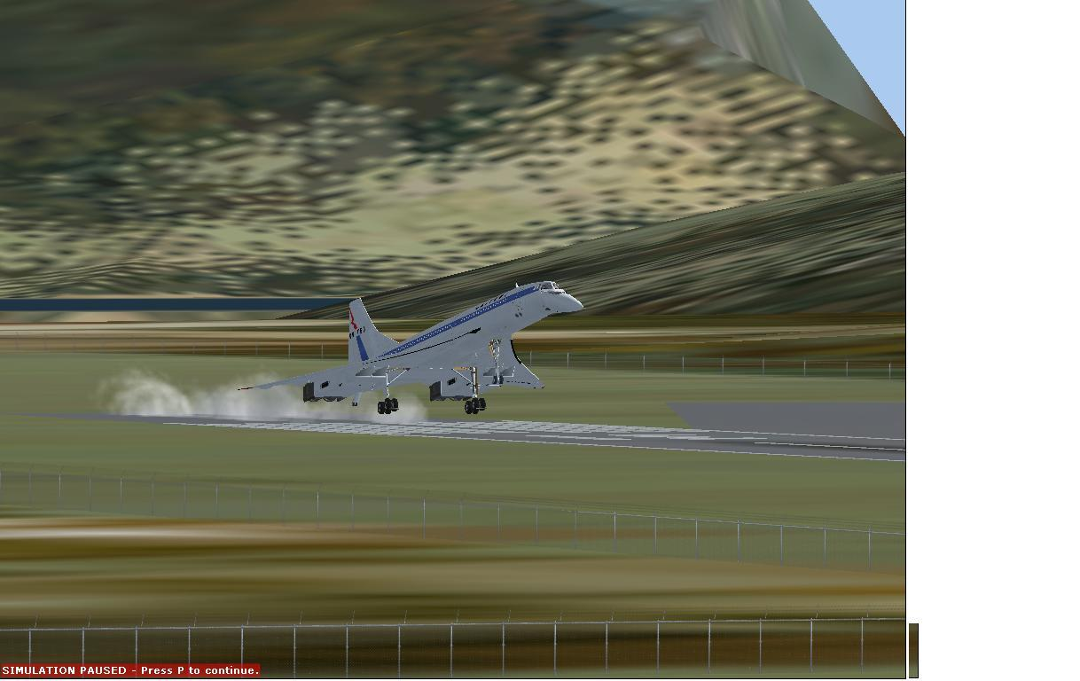 My Concorde Landing :D
