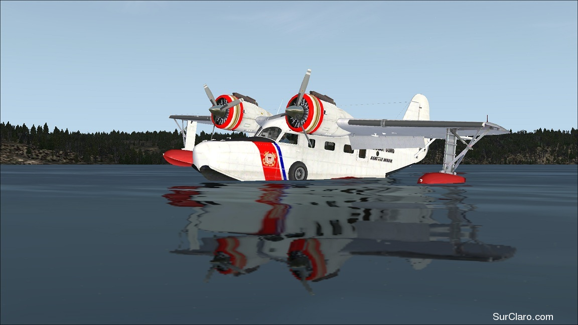 USCG - GRUMMAN GOOSE FSX DEFAULT - RE-PAINT - Photo 18506
