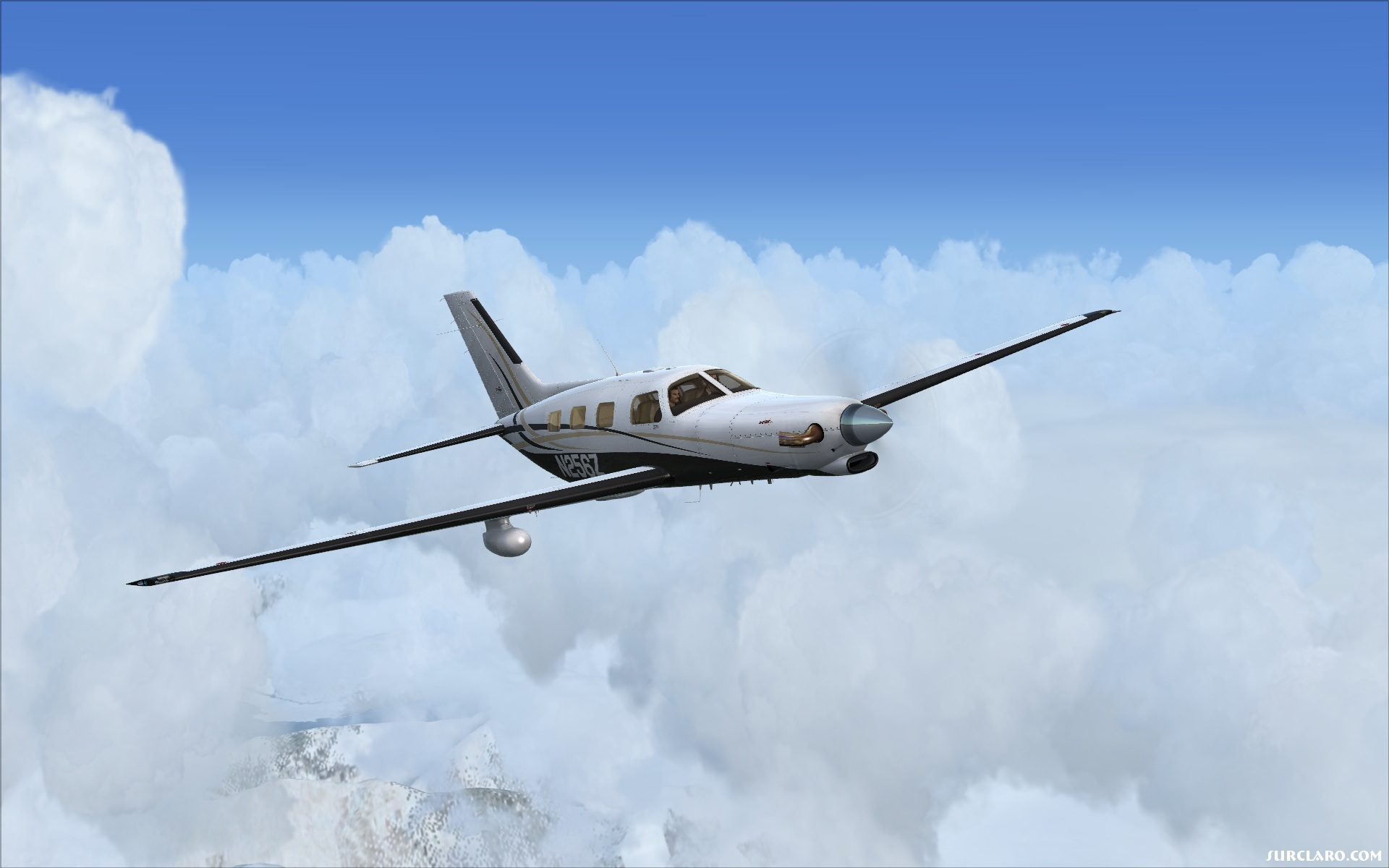 Flight Simulator X Piper P46 18666 Surclaro Photos