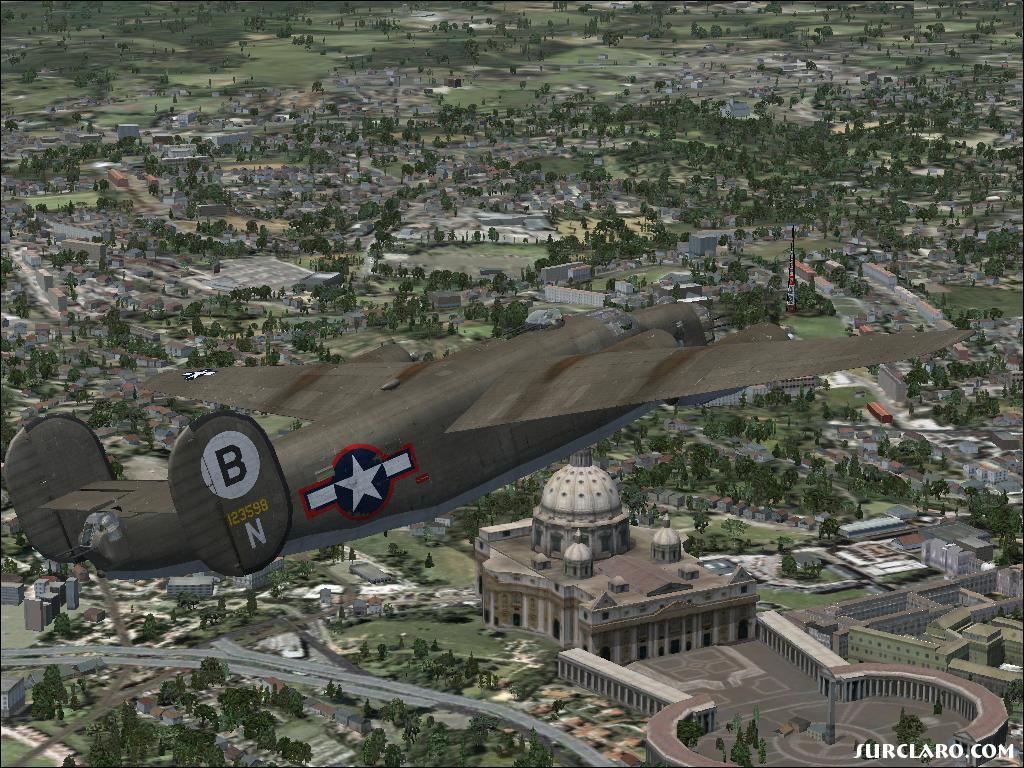 WW2 - B 24 over Rome - Photo 17109