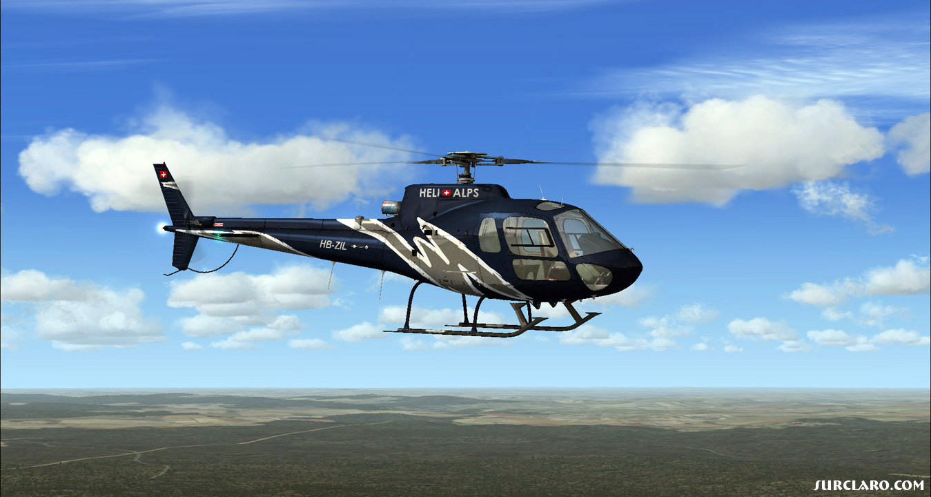 The AS350 appeared first under the Aerospatiale brand label but later in 1992 Aerospatiale and Daimler Benz Aerospace merged their helicopter divisions forming Eurocopter, since then it is recognized under the brand name Eurocopter - Photo 18711