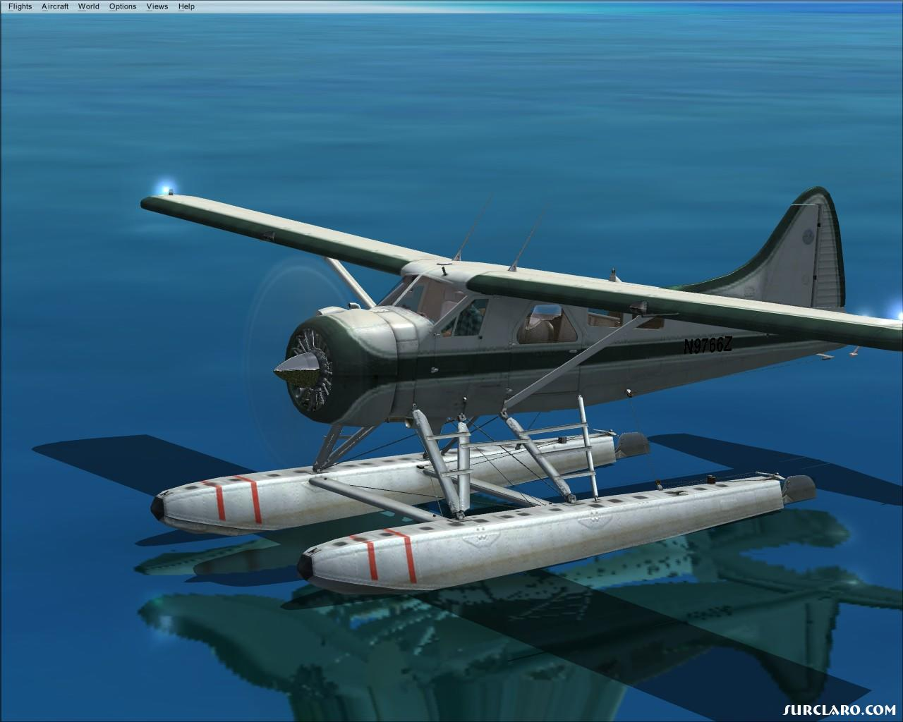 DHav Beaver in FSX (nice reflections) - Photo 16095