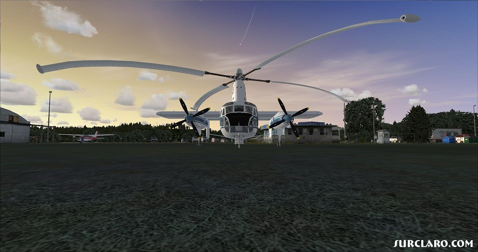 The Vintage Rotodyne from the late 1950's era in my Fsx Gold/ Acceleration edition. - Photo 18706