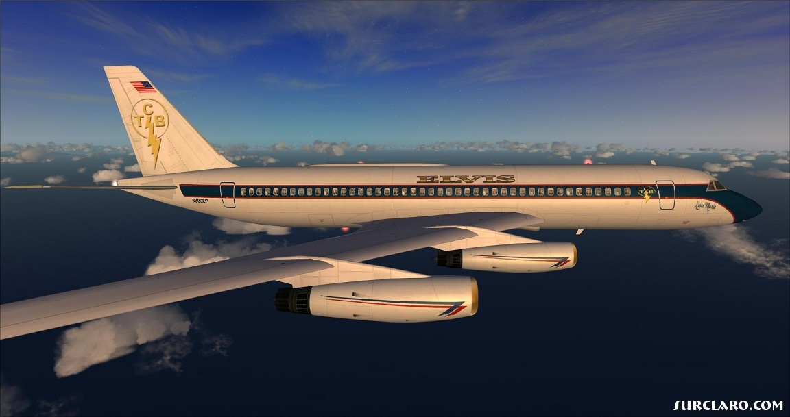 Elvis Presleys Convair 880 Jetliner - TCB Aircraft by Historic Jetliners Group. - Photo 18721