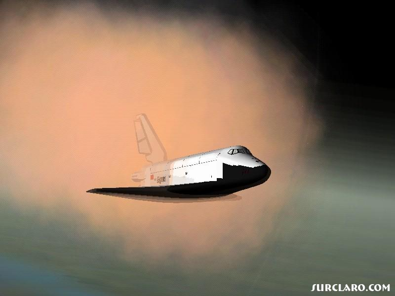 Buran's last re-entry - Photo 12796
