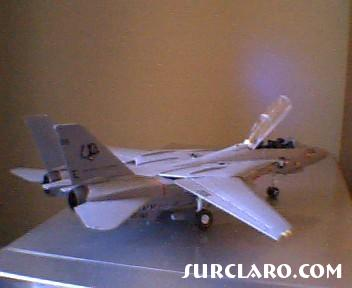 This is a model of an grumman f-14 A tomcat that ive made with my spare time. I am a begginer and this is my second model ive made, please enjoy and tell me what you think of it. - Photo 8305