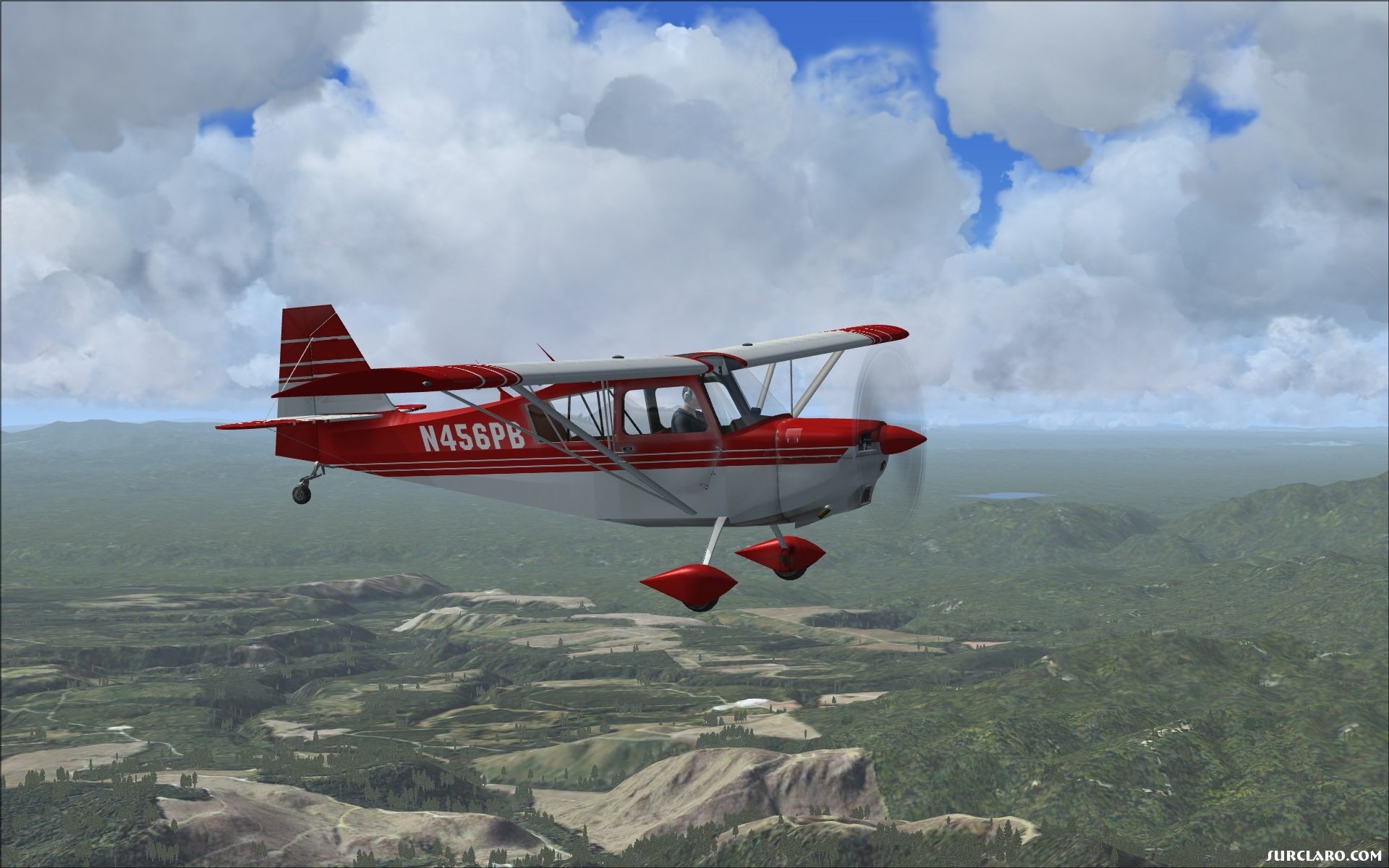 VFR Flight with Bellanca Scout nearby Cushmans Meadows 6 - Photo 18284