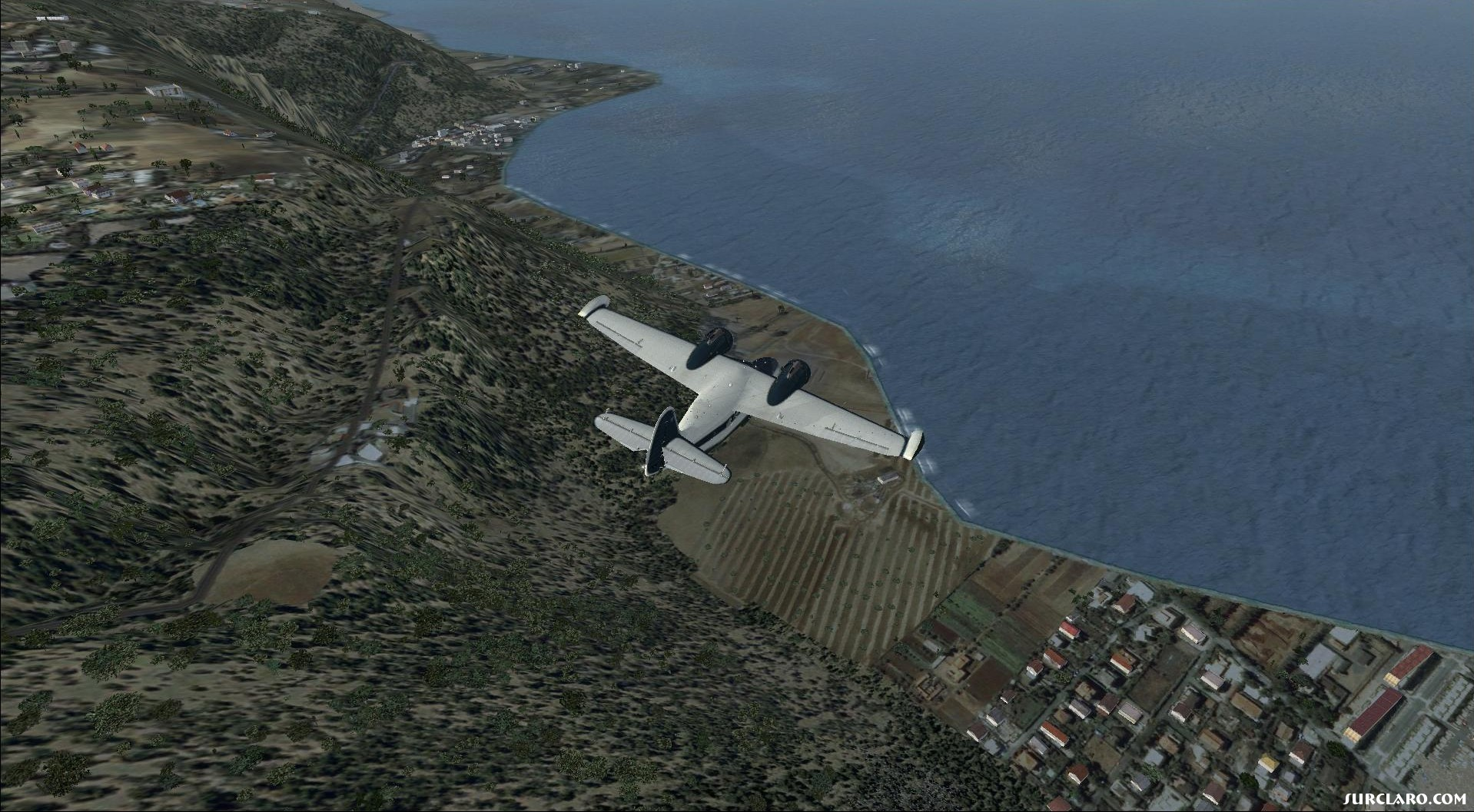 Grumman Goose short hop from Barilles airport to Tocopilla Chile waterfront part 2 - Photo 18140