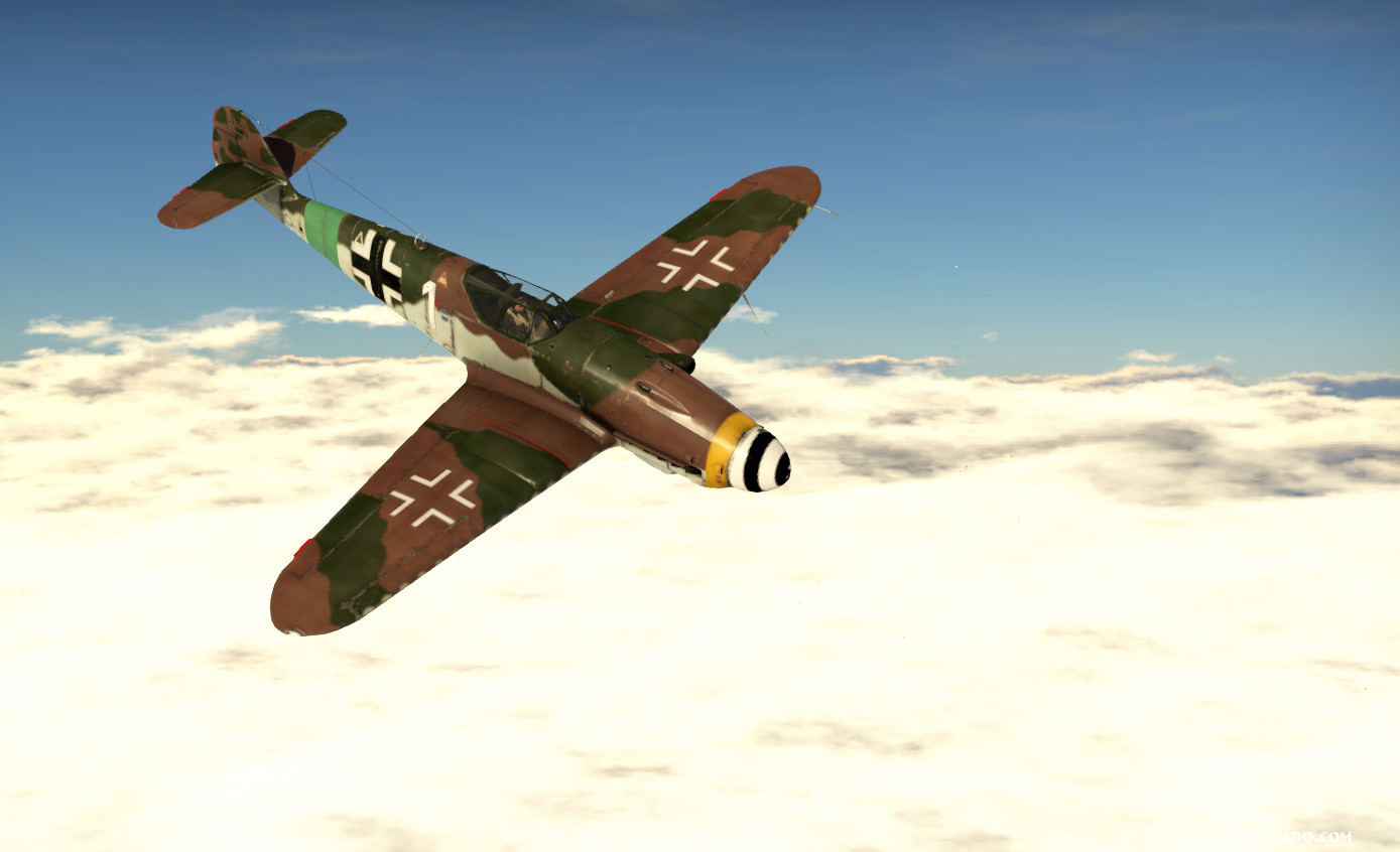 BF109 Over Norway  - Photo 18834